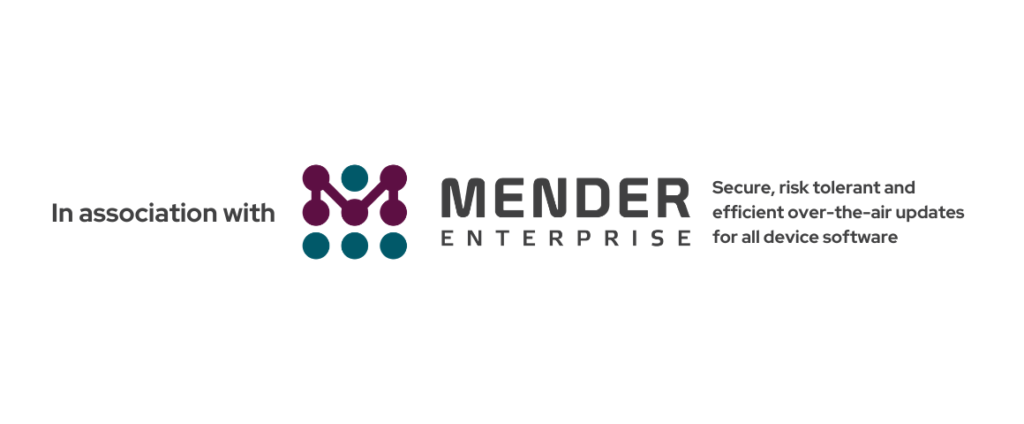 Shipping containers can use Mender Enterprise for OTA software updates